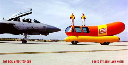 Top Dog on oscar mayer wienermobile whistle