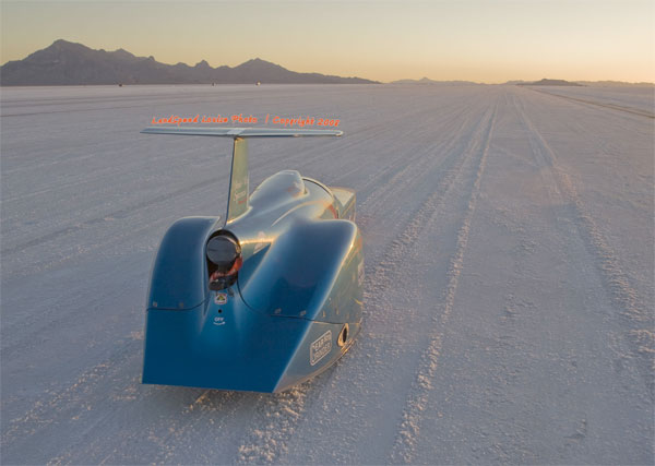 BWFSteamliner SM 100th Anniversary Edition of Bonneville Salt Flats in Production NOW
