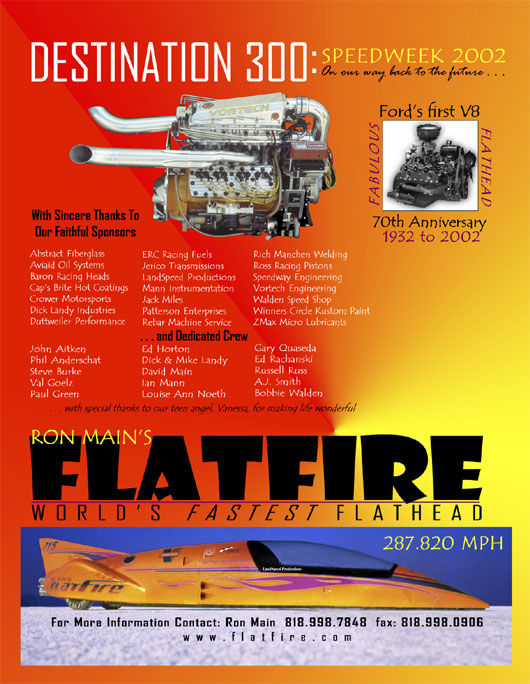 flatfire ad Graphic Design