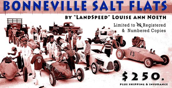 Bonneville Salt Flats - Author's Limited Edition Book